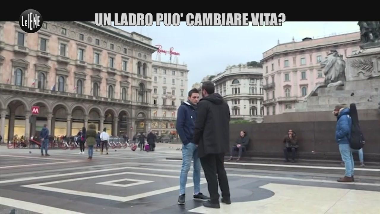 Salvatore ladro borseggiatore cambia vita dentista Palermo video
