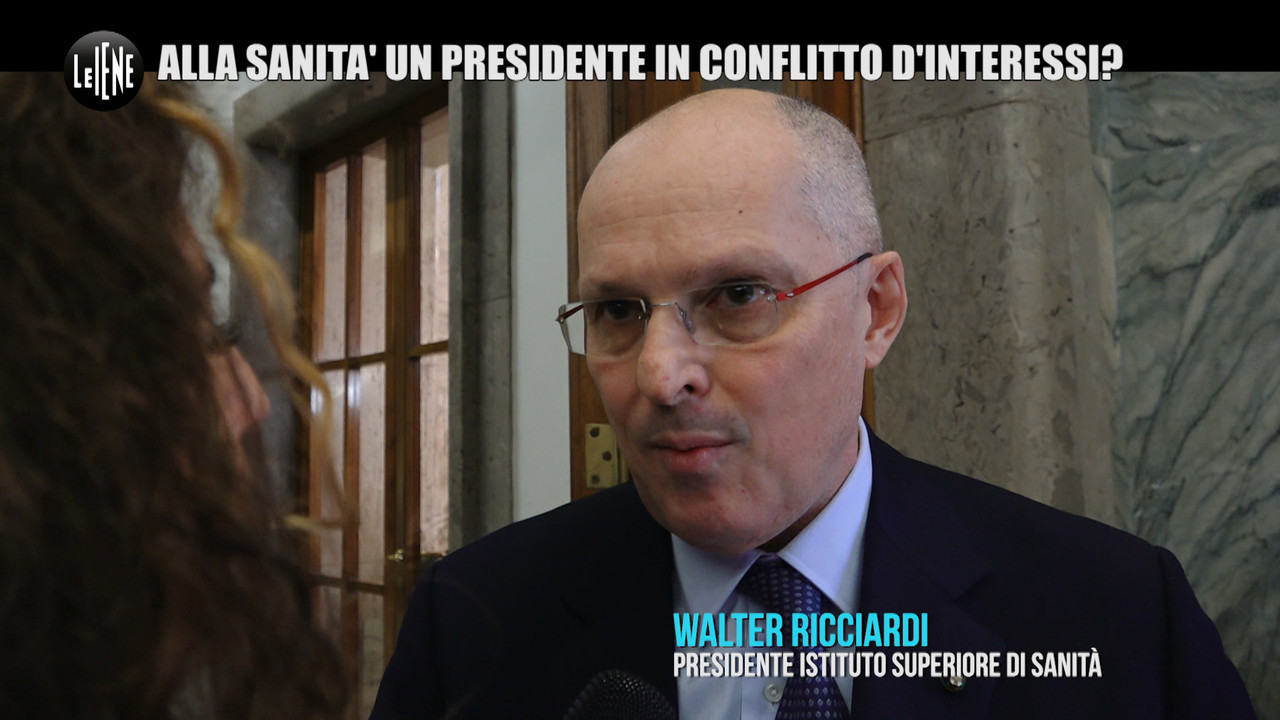 REI: Ricciardi, il presidente dell'Istituto superiore di Sanità è in conflitto d'interessi?