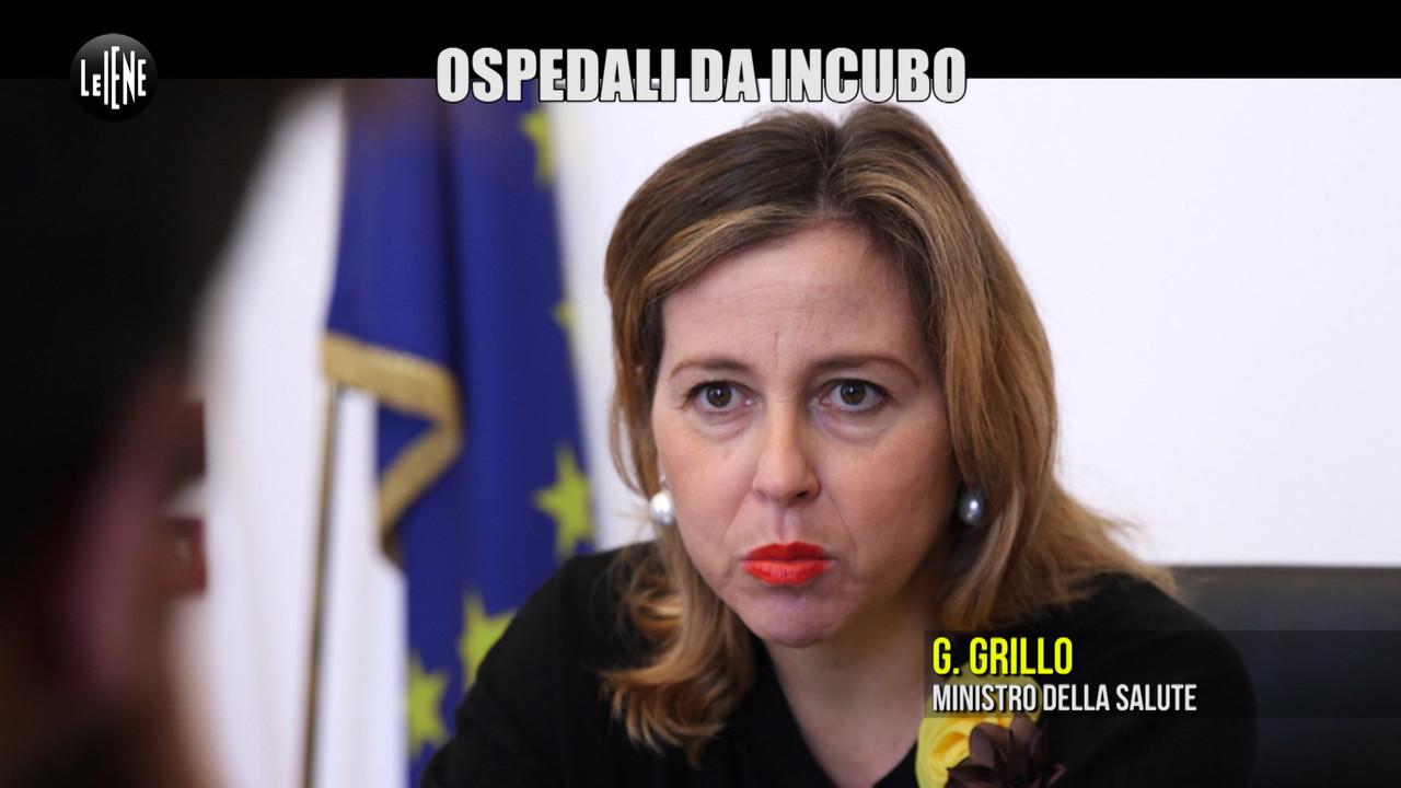 """PECORARO: Ospedali da incubo in Campania, il ministro Grillo: """"Interverremo noi"""""""
