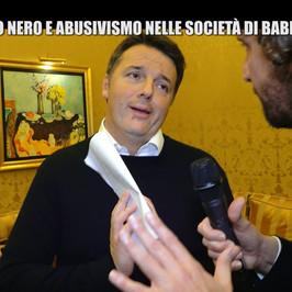 Renzi Tiziano Matteo abusivismo lavoro nero Di Maio padre