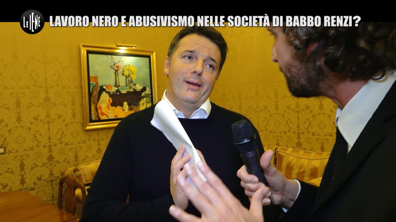 Renzi, abusivismo e lavoro nero anche nelle società di babbo Tiziano? | VIDEO