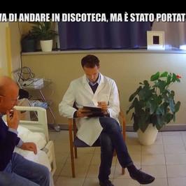 Massimo Boldi Christian De Sica intervista doppia scherzo Iene ospizio