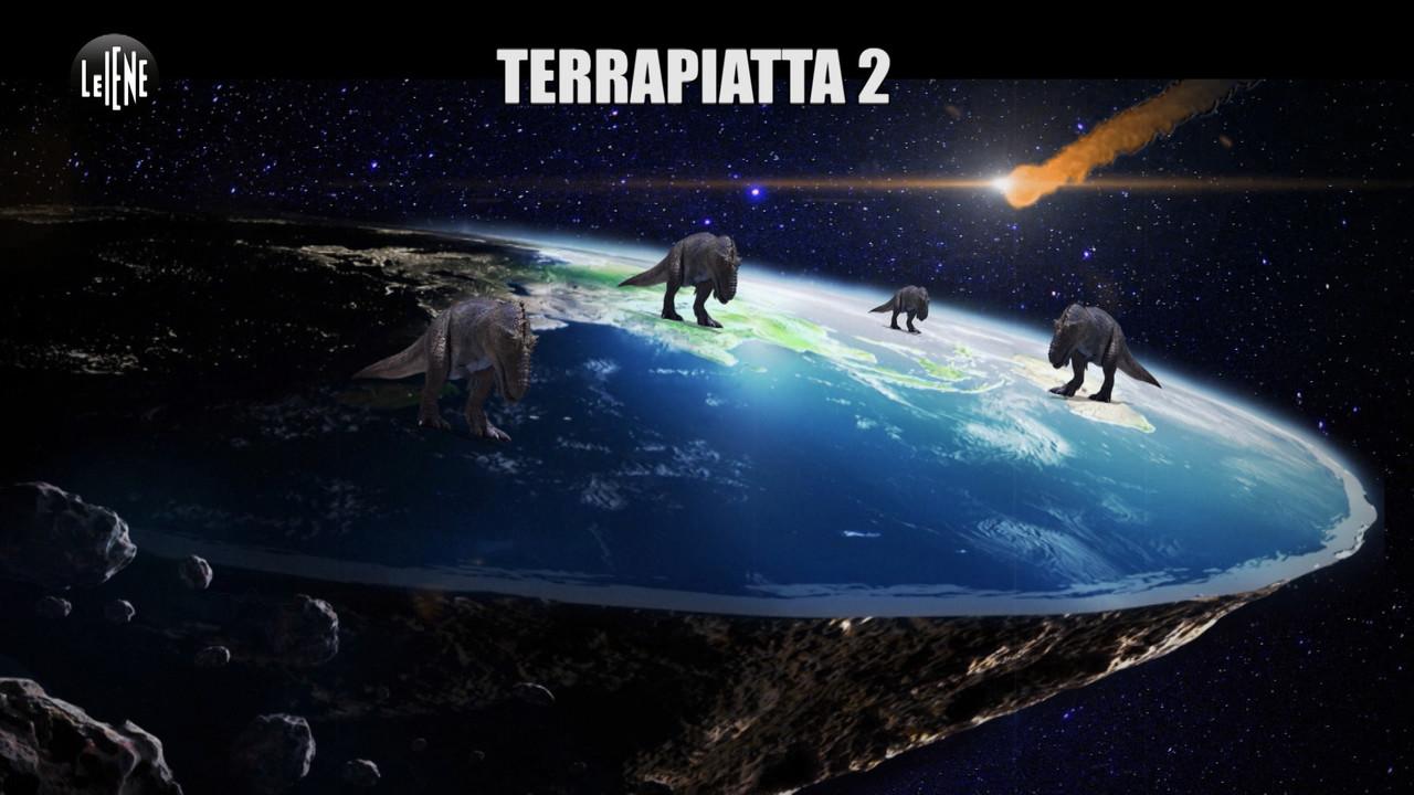 Terra piatta terrapiattisti astronauta Umberto Guidoni