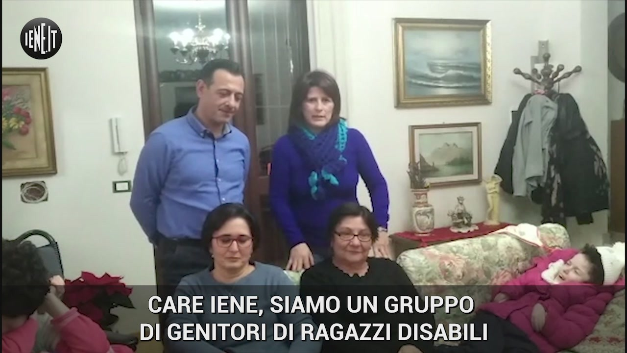 appello genitori castelvetrano figli disabili