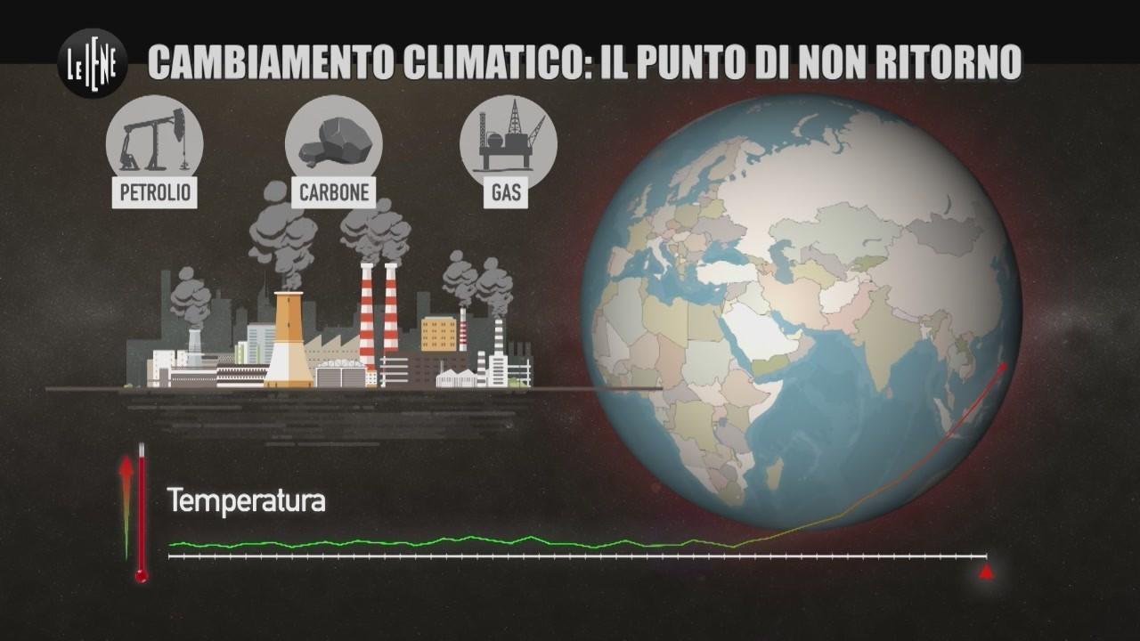 riscaldamento globale rischi cosa fare