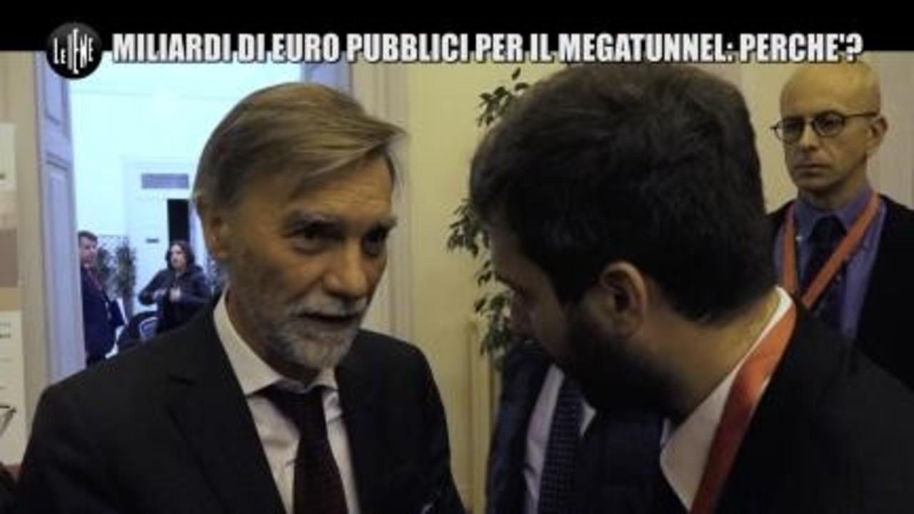 PECORARO: Miliardi di euro pubblici per il megatunnel: perché?