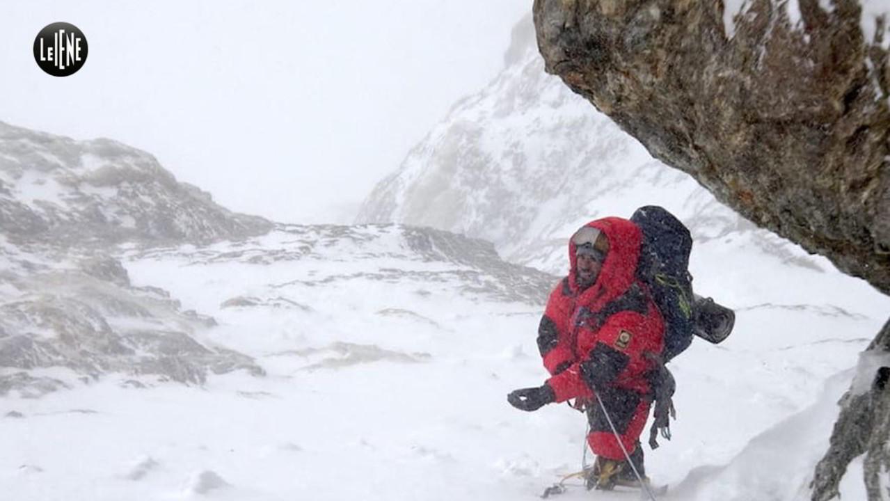 Le foto della scalata al Mummery