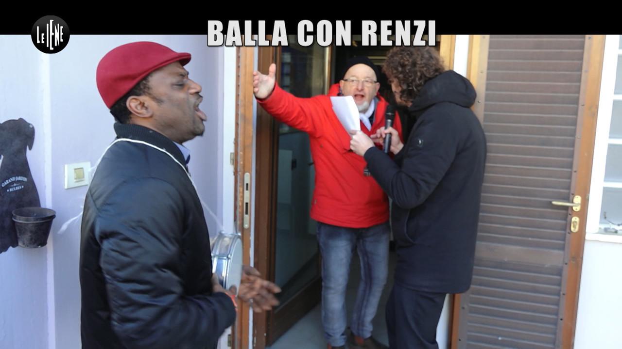 Renzi padre Tiziano Matteo societa dipendente nigeriano insulti