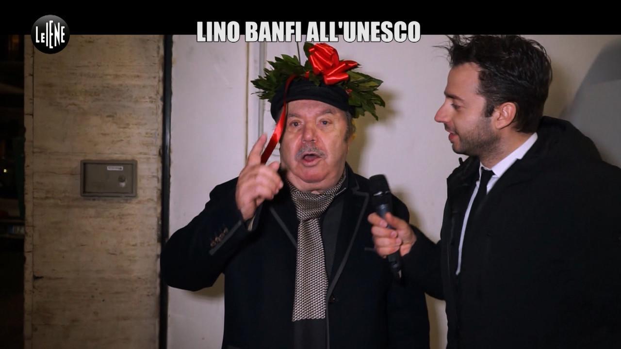 lino banfi unesco test