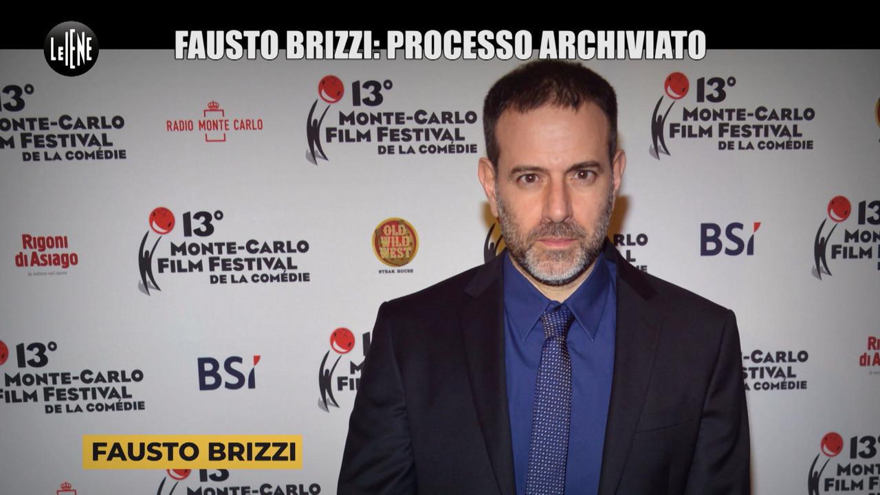 Brizzi Fausto molestie archiviazione falsa testimonianza