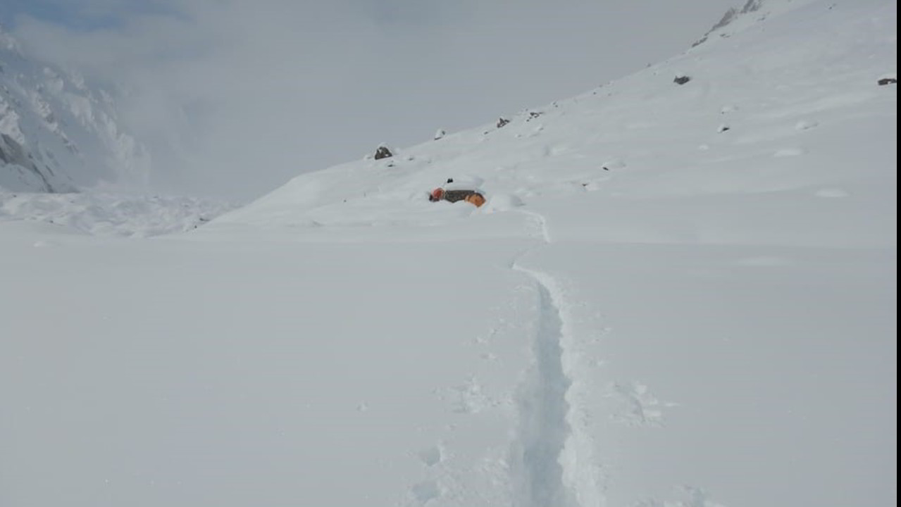 """Daniele Nardi e il Mummery: """"assediati dalla neve"""""""