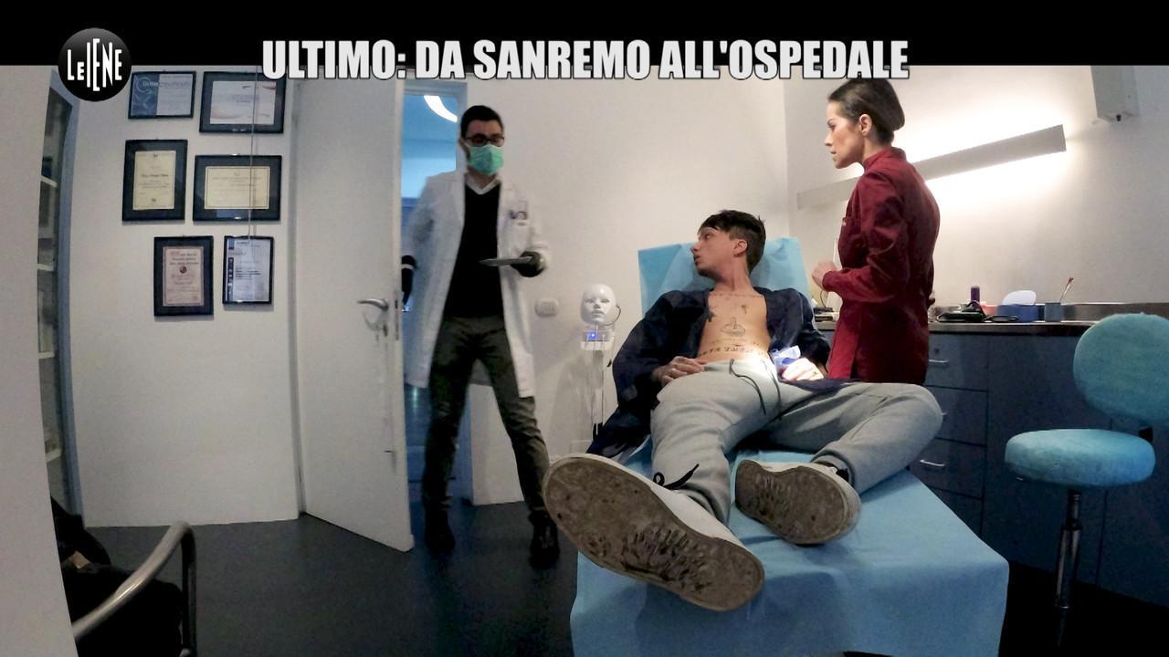 MITCH: Ultimo e l'ipocondria: da Sanremo all'ospedale per scherzo con Le Iene