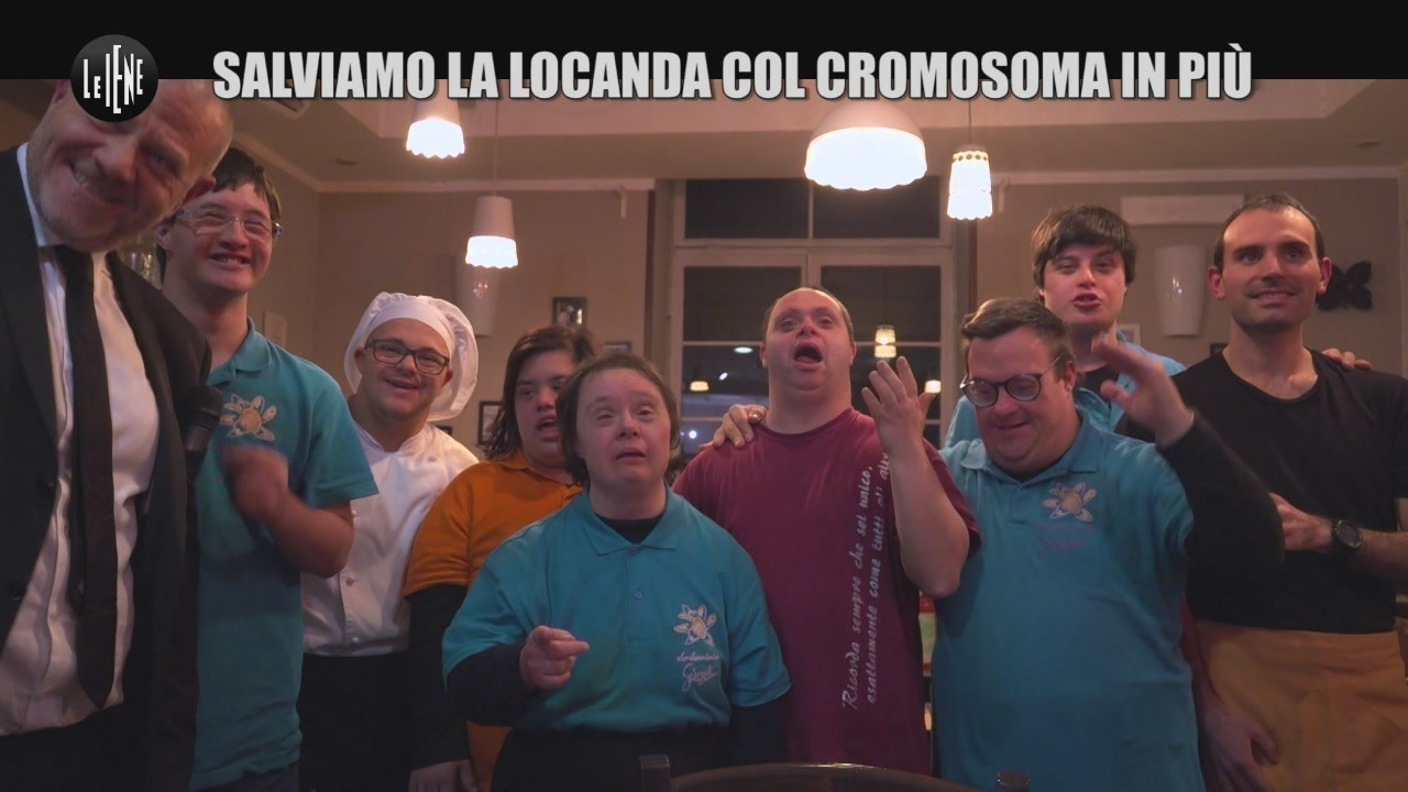Sindrome Down autismo locanda girasoli Roma Virginia Raggi