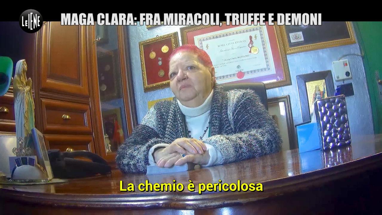 Maga Clara miracoli santona cancro truffa demonio