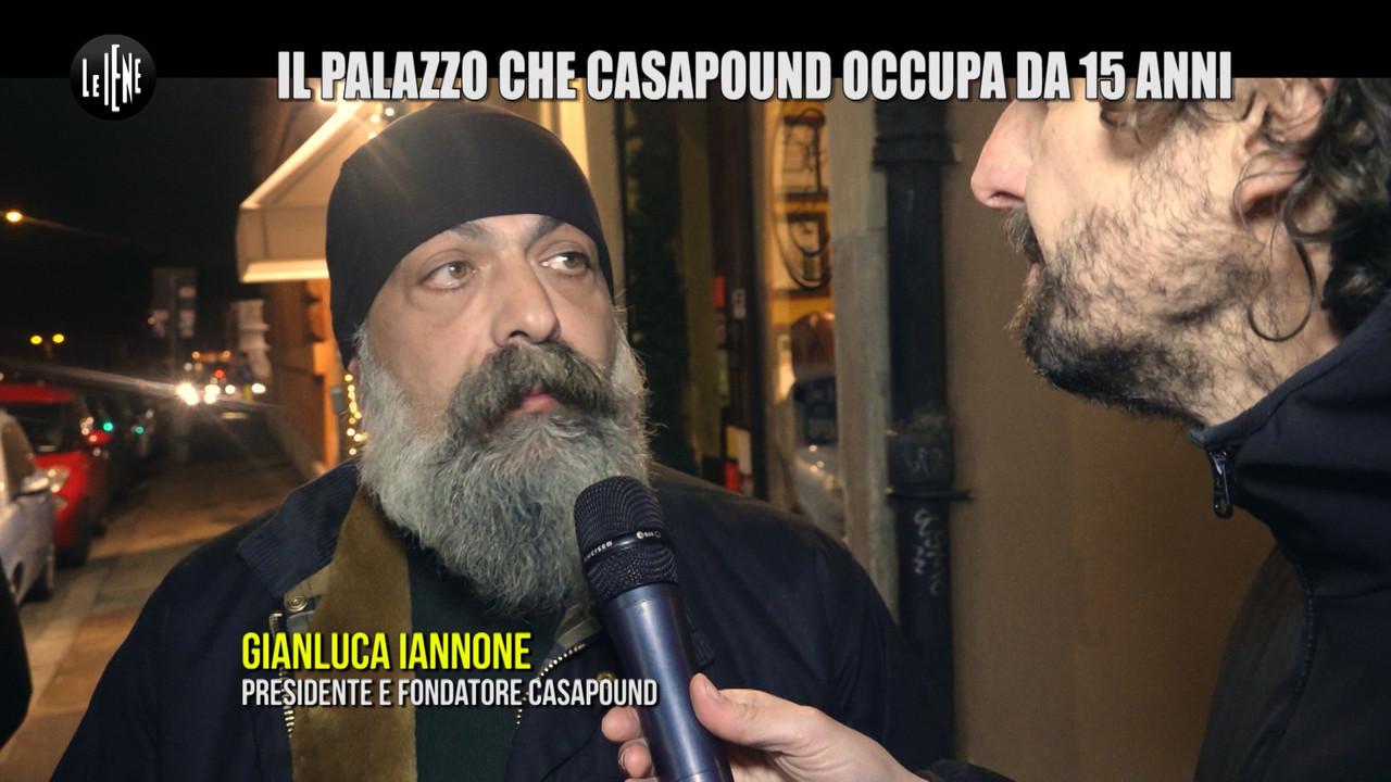 ROMA: CasaPound: l'estrema destra con sede occupata abusivamente da 15 anni