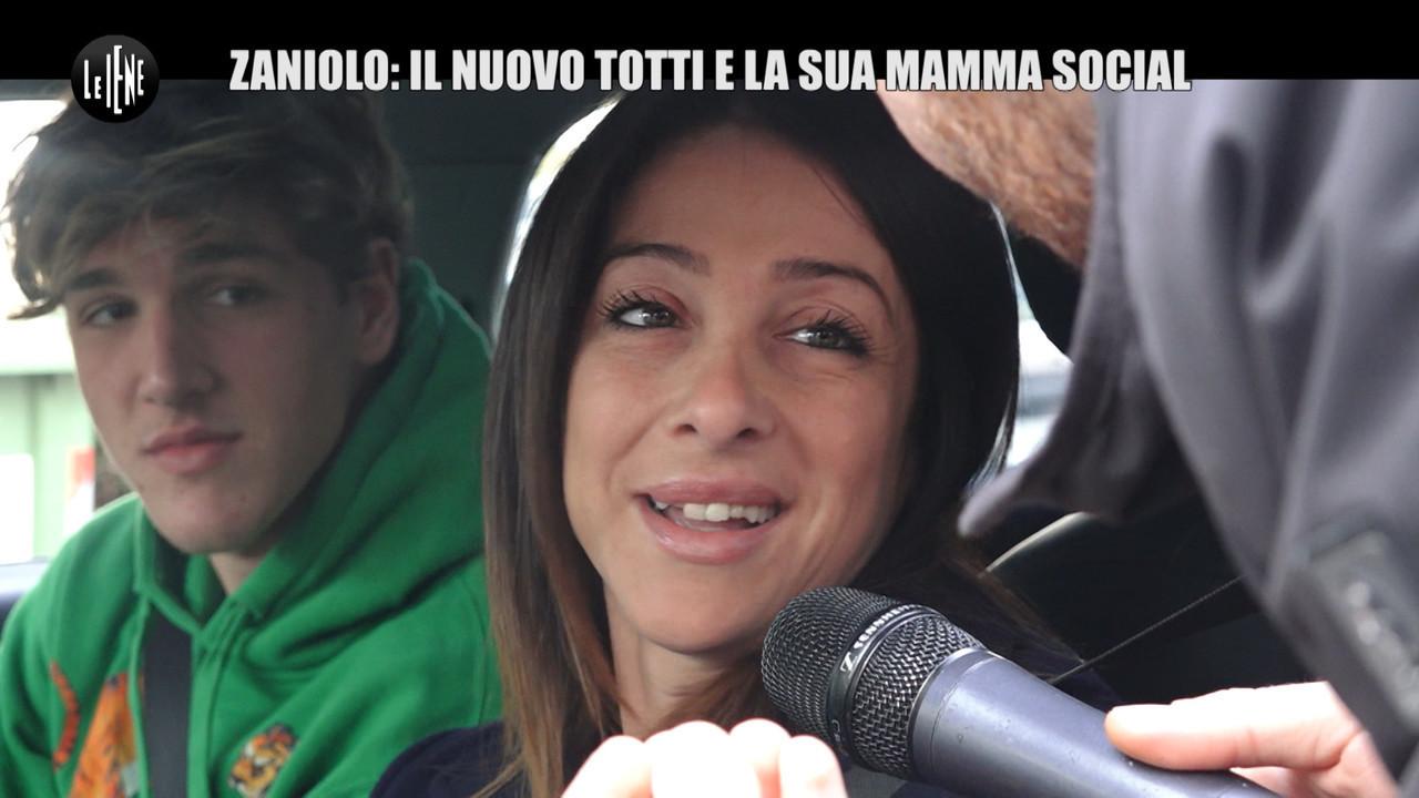nicolò zaniolo mamma milf social roma