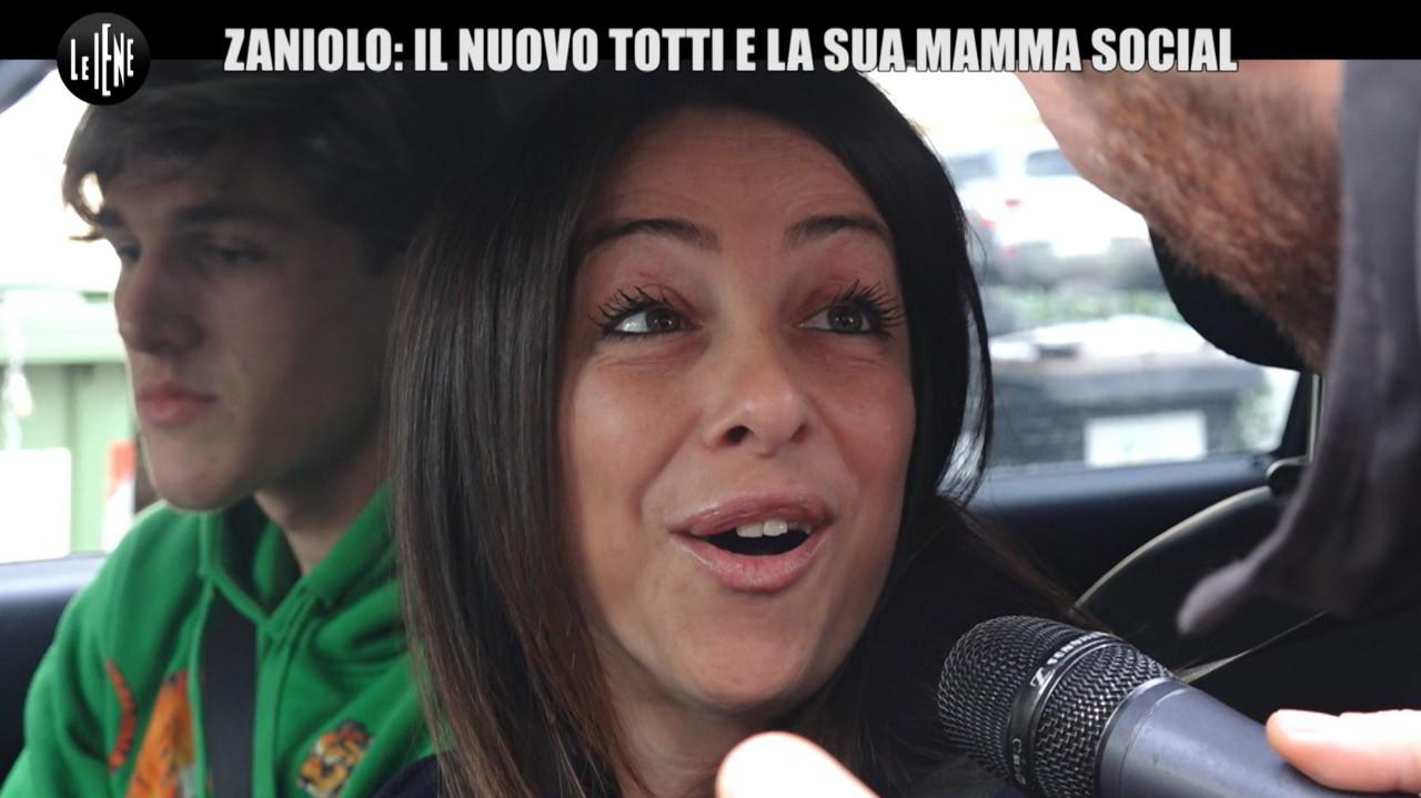 Zaniolo, la mamma super social e il Grande Fratello   VIDEO