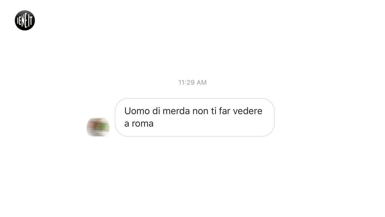 Zaniolo: minacciata La Iena De Devitiis. Tutte le foto