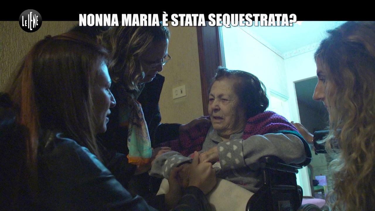 Nonna Maria sequestrata Nina