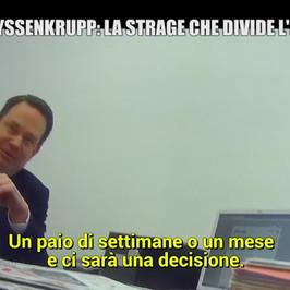 thyssenkrupp ministero giustizia archiviazione procura tribunale