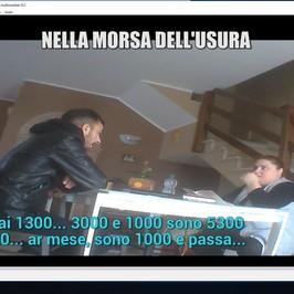 usura strozzini roma denuncia guardia di finanza arresti le iene