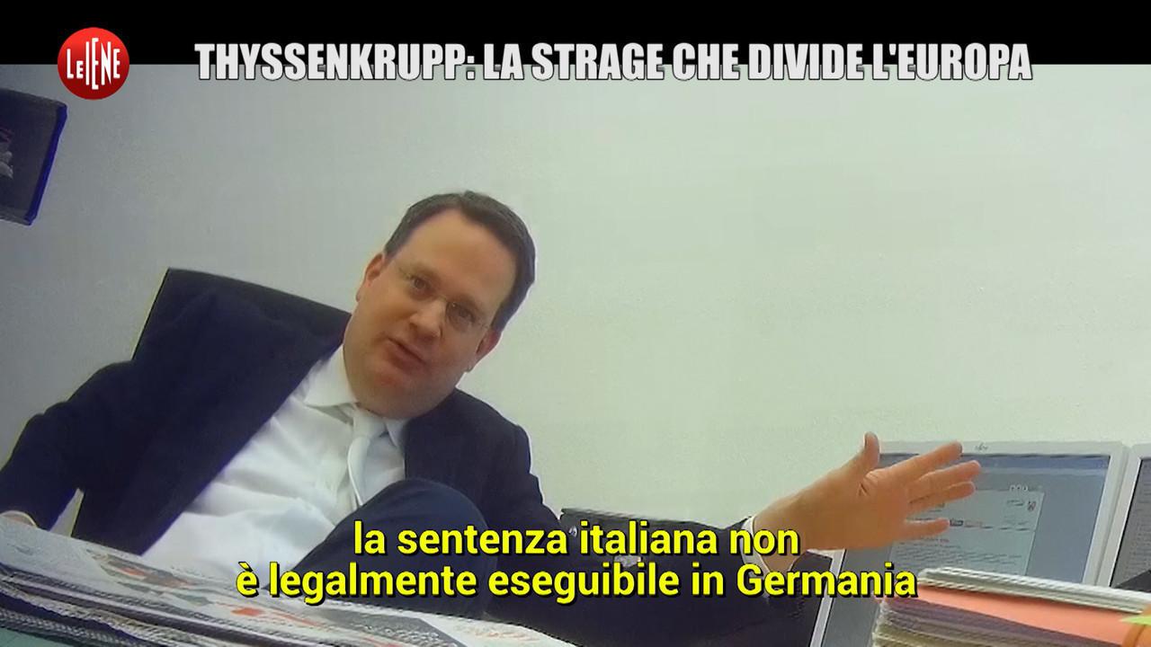 POLITI: Rogo alla Thyssen: archiviazione in Germania per le condanne italiane?