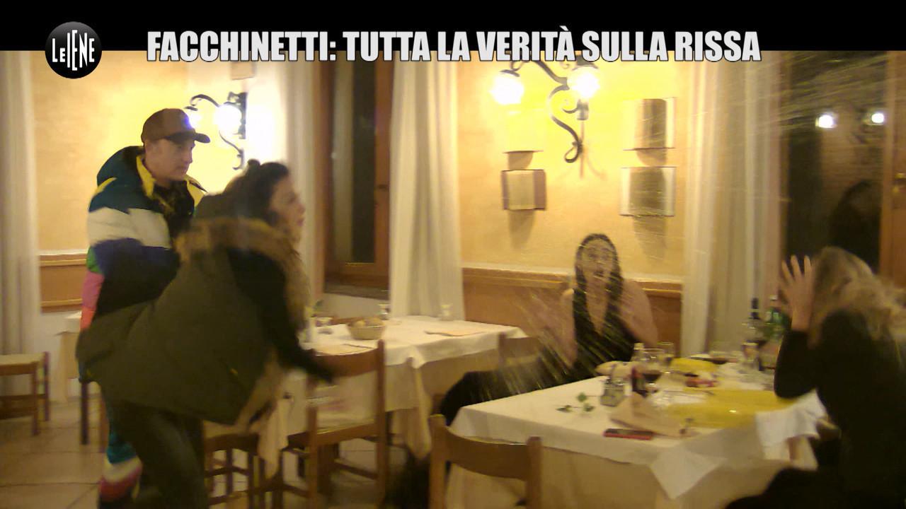 Francesco facchinetti scherzo bonas laura cremaschi moglie rissa ristorante