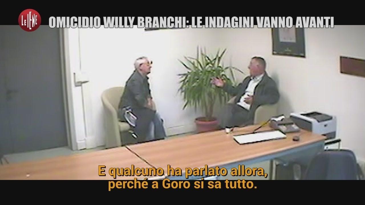 omicidio willy branchi intercettazioni sarto parroco anticipazione