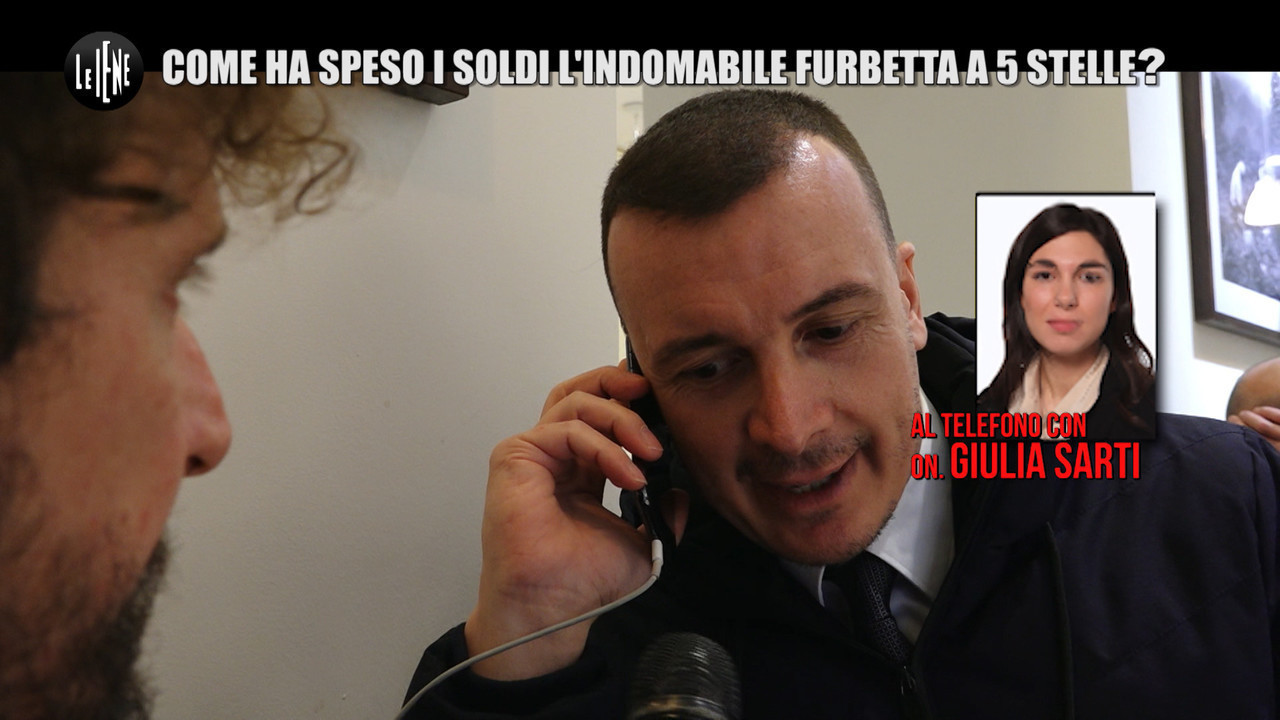 giulia sarti rimborsopoli m5s video hard