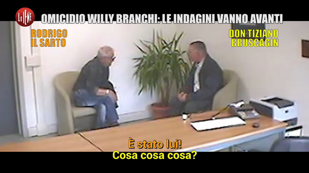 Willy Branchi omicidio assassino intercettazioni goro sarto prete procura