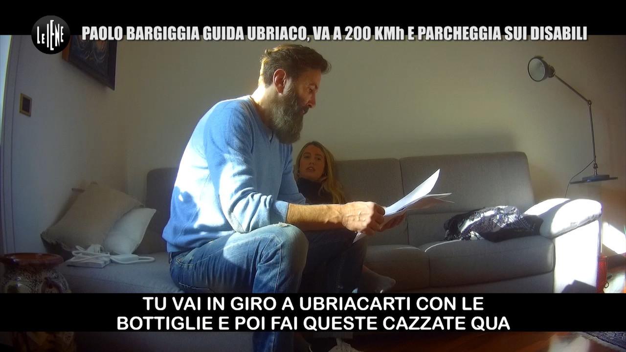 Bargiggia Paolo macchina figlia ubriaca multe scherzo Iene