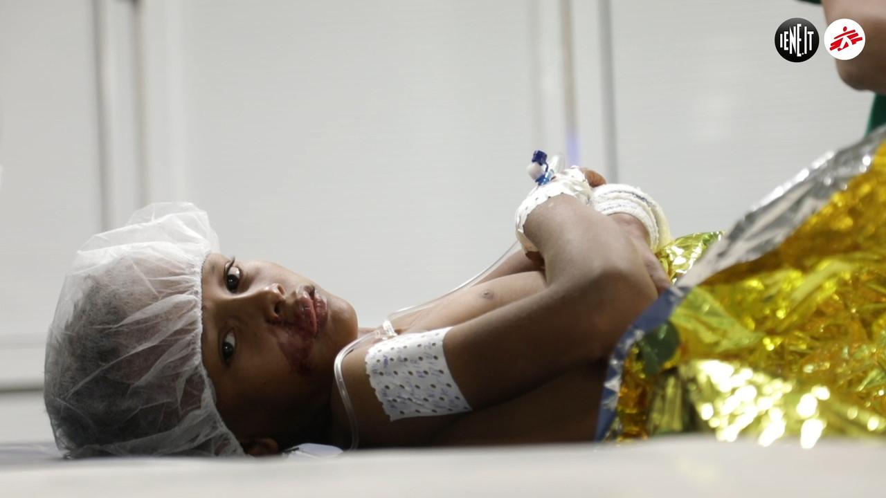 Yemen otto bambini uccisi Iene ospedale MSF due ore fronte guerra