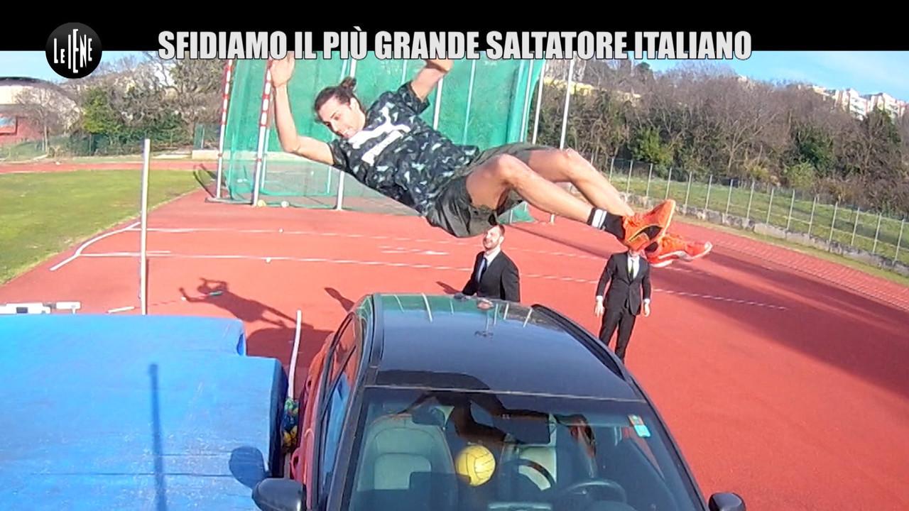 Gianmarco tamberi record salto alto scherzo