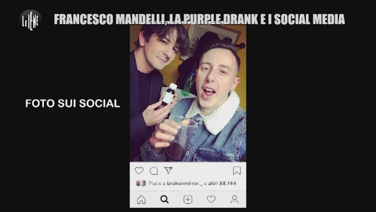 francesco mandelli shade purple drank scherzo video