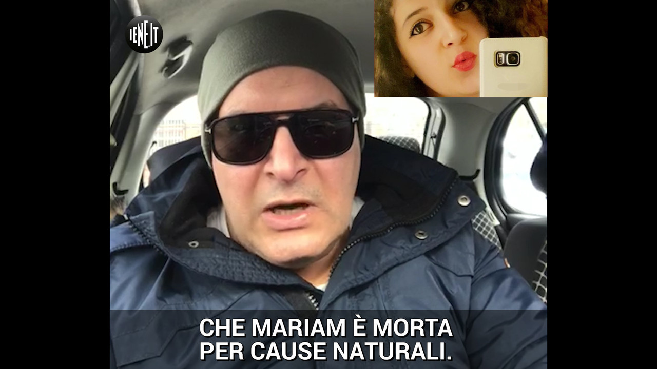 "Bullismo, il papà: ""Mariam non è morta per cause naturali"" 
