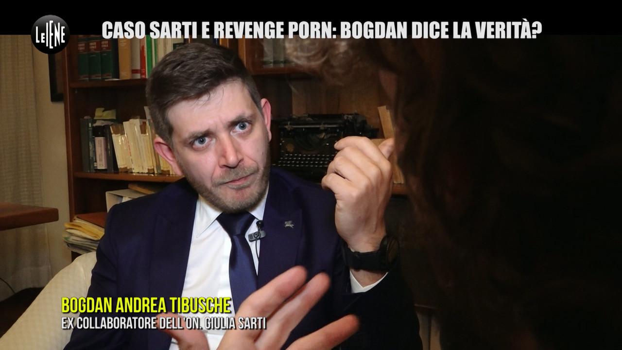 Sarti Giulia Cinque Stelle revenge porn Bogdan