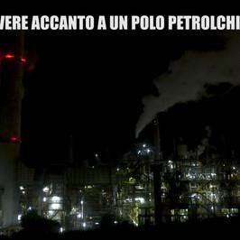 cancro inquinamento morti petrolchimico