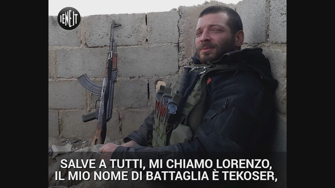 siria lorenzo orsetti tekoser morto isis guerra terrorismo ypg