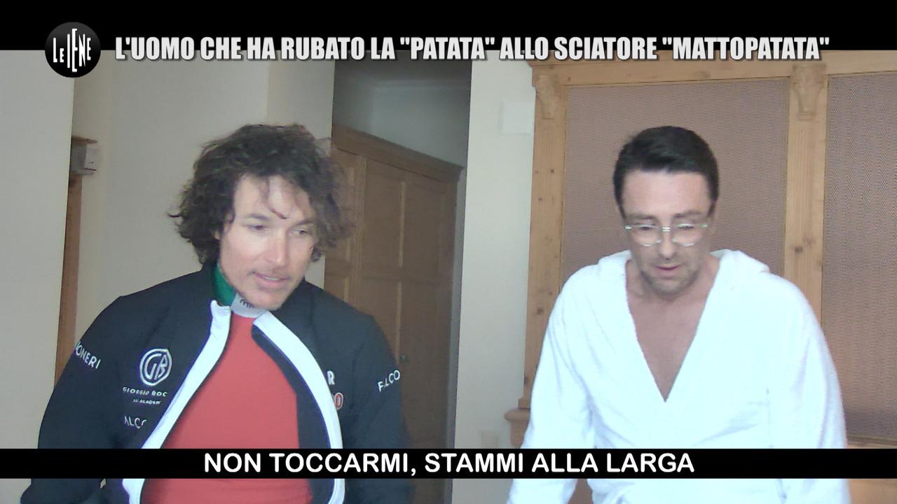 Gay a letto con la moglie di Giorgio Rocca: lo scherzo | VIDEO
