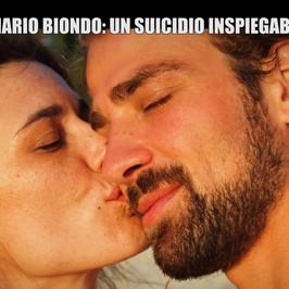 mario biondo raquel sanchez silva omicidio suicidio impiccato diva spagnola