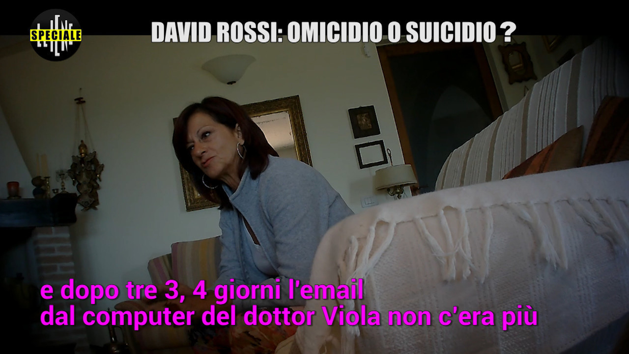 David Rossi/4: una testimonianza clamorosa