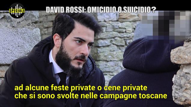 David Rossi/5: i festini con sesso e droga e l'escort