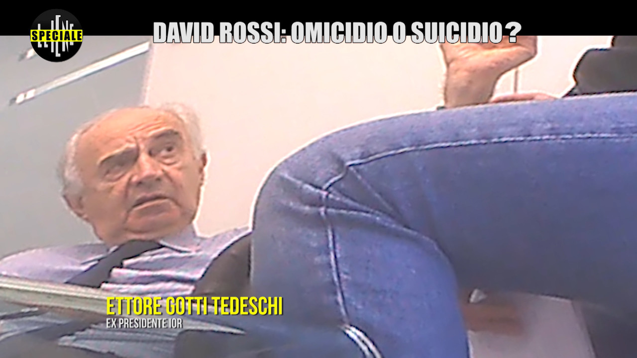 David Rossi: le rivelazioni clamorose sul Vaticano | VIDEO