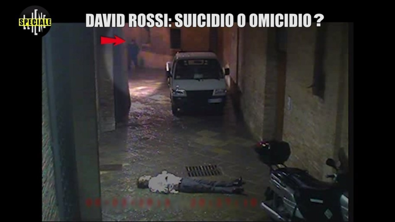 David Rossi video morte suicidio omicidio speciale Iene tutti dubbi