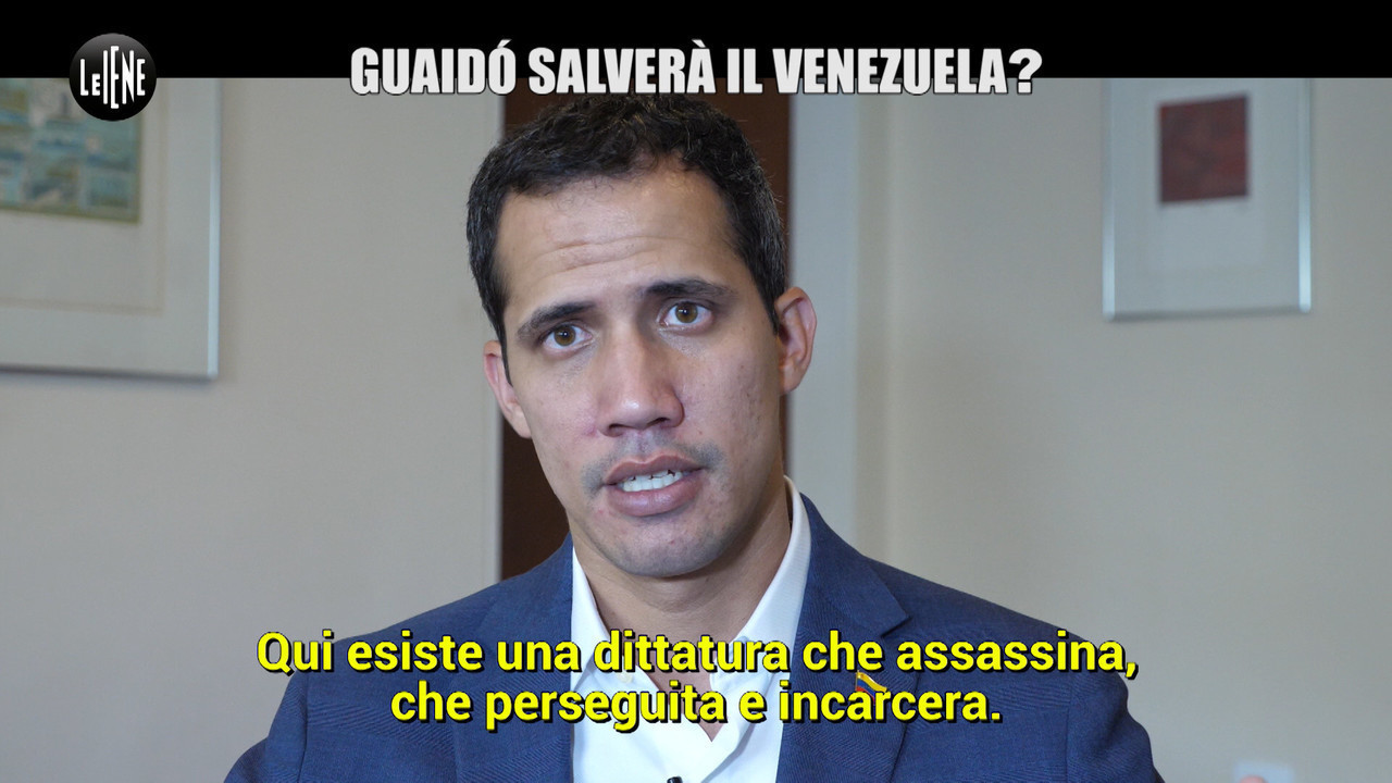 Guaido Juan presidente Venezuela Cinque Stelle intervista esclusiva