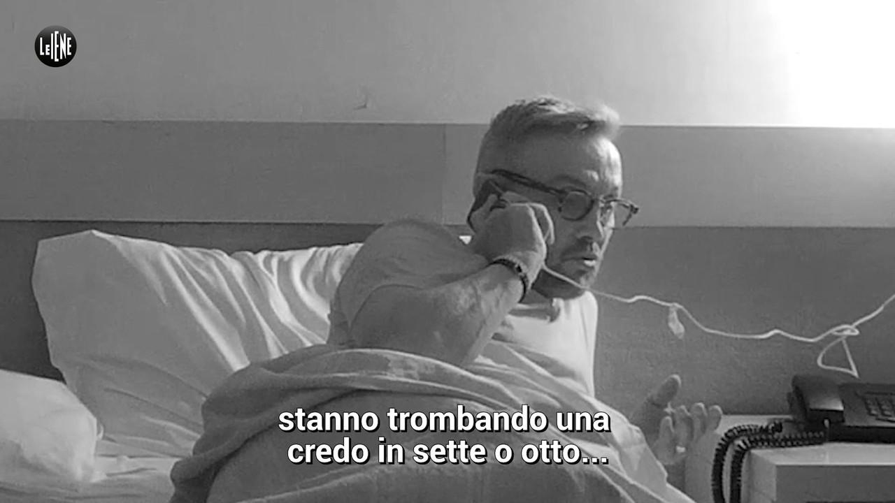 Bruno Barbieri, lo scherzo de Le Iene nell'hotel da incubo tra orge, gatti morti e cocaina | VIDEO