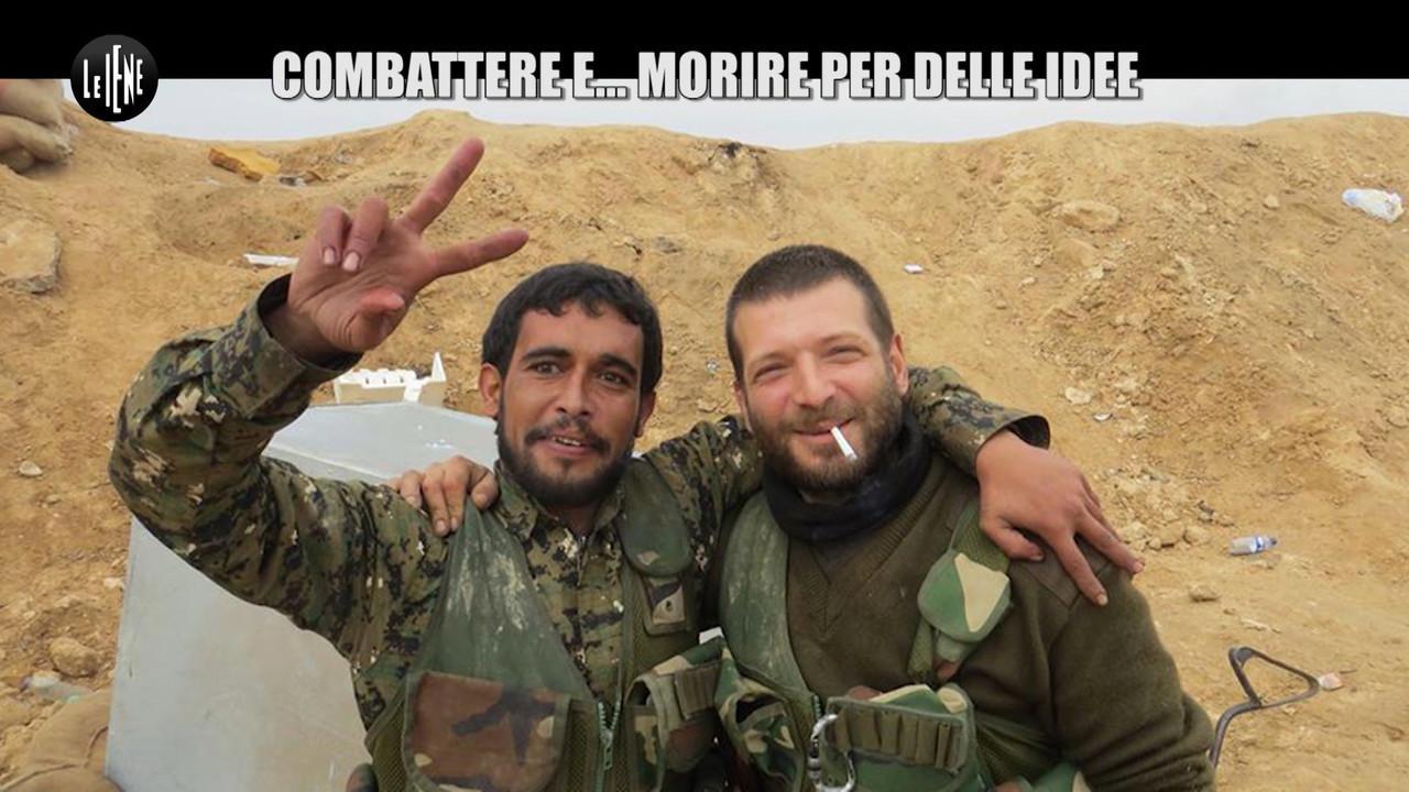 terrorismo lorenzo orsetti tekoser siria isis morto procura socialmente pericolosi armi guerra