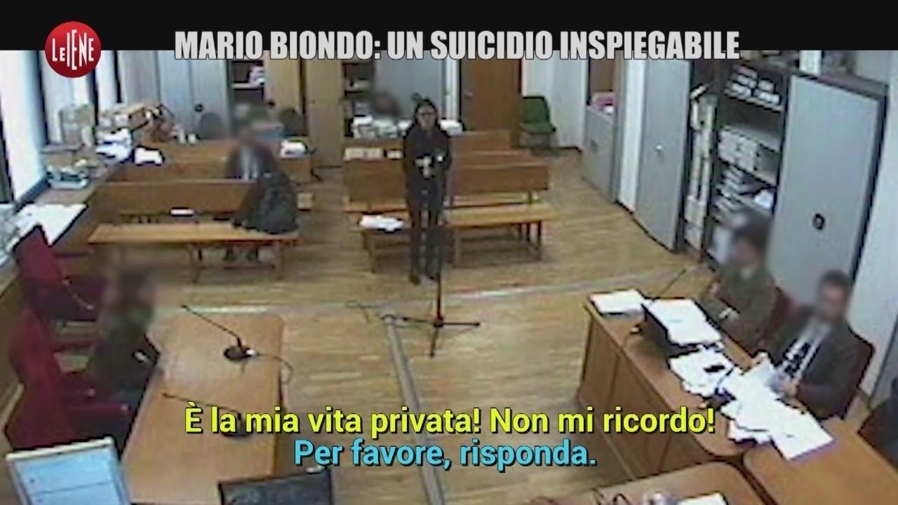 mario biondo morte omicidio suicidio misteri contraddizioni