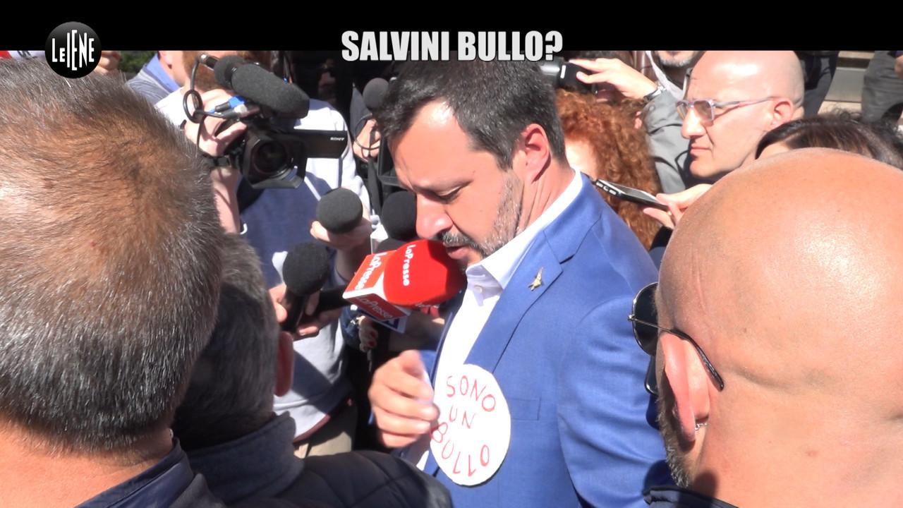 Salvini rami pullman terrore cittadinanza italiana
