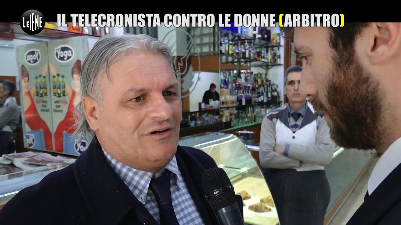 Sergio vessicchio polemiche annalisa moccia quiz elena tambini calcio arbitro donne